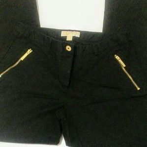 Michael by Michael Kors Black Pants Size 10
